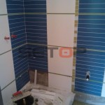 Rekonstrukce bytového jádra v Pohořelicích před a po rekonstrukci.
