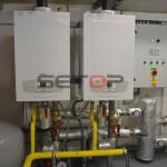 kondenzační plynové kotle kaskáda