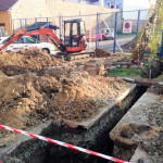 Přípojka vody a kanalizace Pohořelice