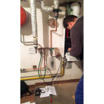 Servis a spuštění kondenzačního kotle Baxi Brno