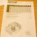 H02 projekt topení výpočet tepalných ztrát