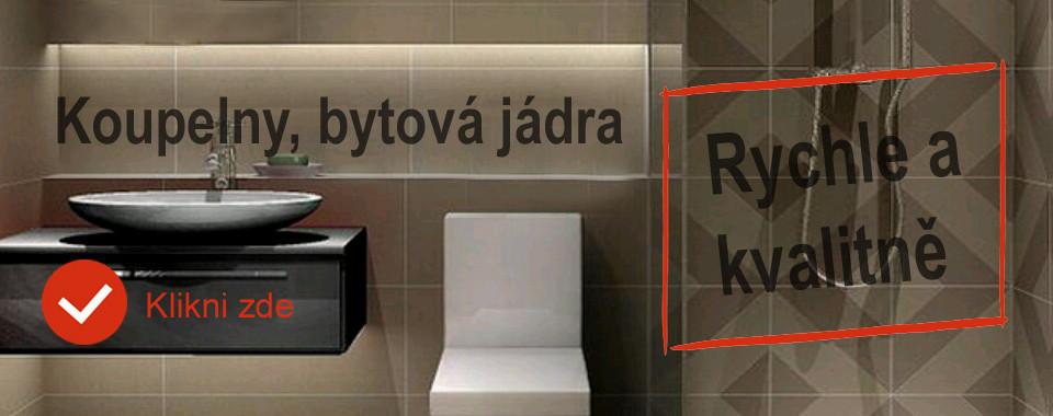 Bytové jádro koupelna Brno Vyškov