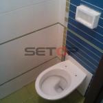 WC bytové jádro rekonstrukce