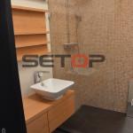 Hlavova sprcha Hansgrohe nabytkove umyvadlo