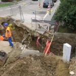 Přípojky vody, kanalizace, plynu Brno1