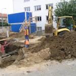 Přípojky vody, kanalizace, plynu Brno2