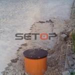 Přípojka kanalizace pro dům 3