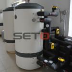 Tepelné čerpadlo Carrier akumulační nádoby