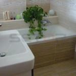 koupelna bytové jádro, rekonstrukce Vyškov Brno Drnovice 05